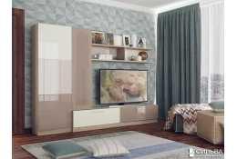 Стенка для гостиной Карамель НМ 013.58