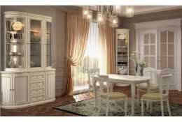 Гостиная мебель Сильвия (белый ясень)