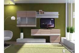 НМ 013.09 Шкаф комбинированный Лофт-2