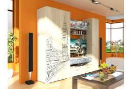 Стенка для гостиной Лондон