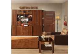 Модульная мебель Sherlock (орех шоколадный) (композиция 4)