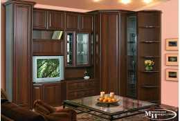 Модульная мебель Янна (орех пегас) (композиция 11)
